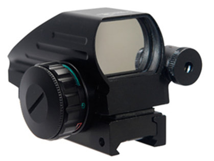 Full Metal Red/Green Multi-Reticle Reflex Sight w/ Laser