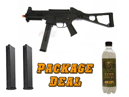H&K UMP AEG Airsoft SMG Competition Series Combo Package