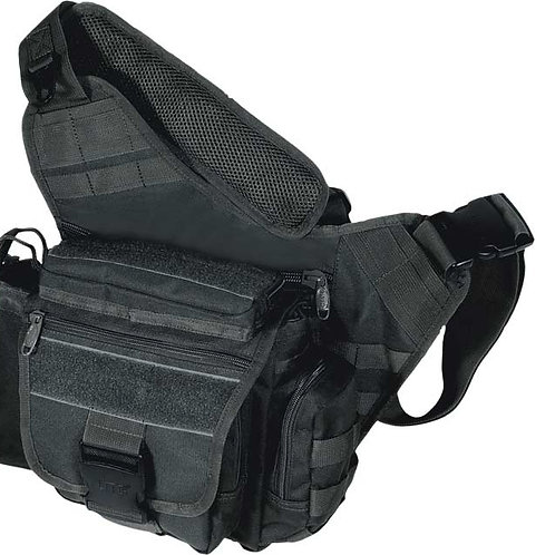 UTG Multi-Functional Tactical Messenger Bag, Black