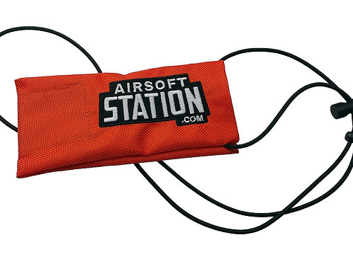 Airsoft Station Barrel Cover - Red/Black