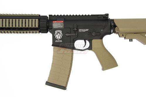 G&G GR4 CQB-S MINI Black & Tan Two-Tone Blowback Airsoft Rifle