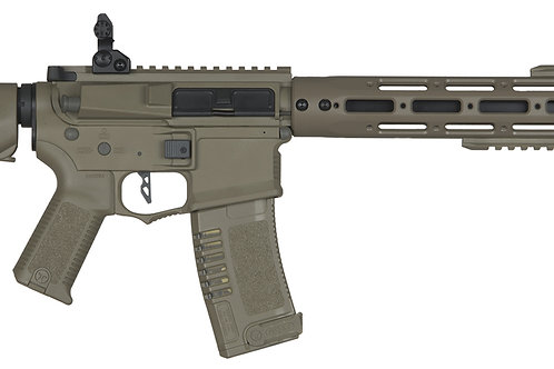 "ARES Amoeba AM-009 16"" RIS M4 Carbine Airsoft Rifle, Tan"