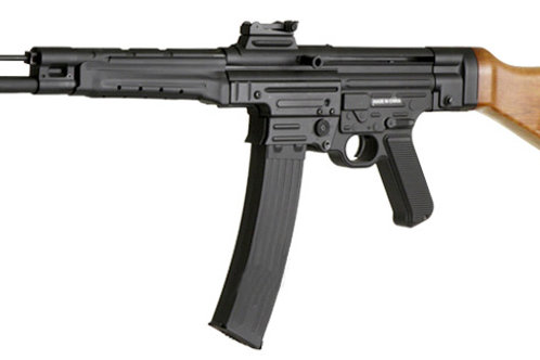 MP44 Airsoft Rifle AEG by AGM, Real Wood Stock