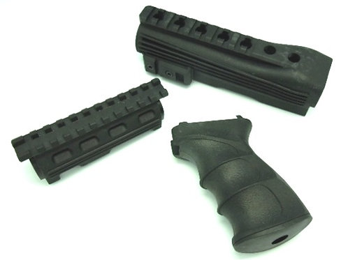 CYMA Nylon Tactical AK47 Pistol Grip and Foregrip Conversion Kit