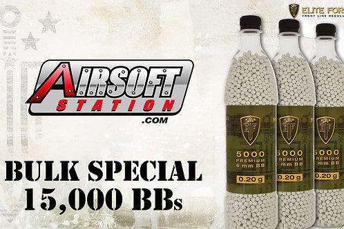 Elite Force Premium BBs, 0.20g, 15K Bulk Deal