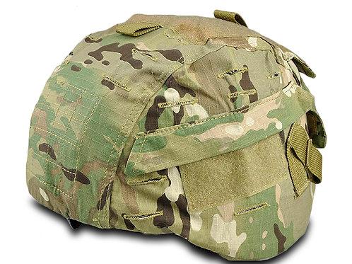 MICH 2000 Camo Helmet Cover