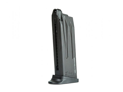 Magazine for Gas Blowback H&K USP Compact by KWA, 22 Rounds