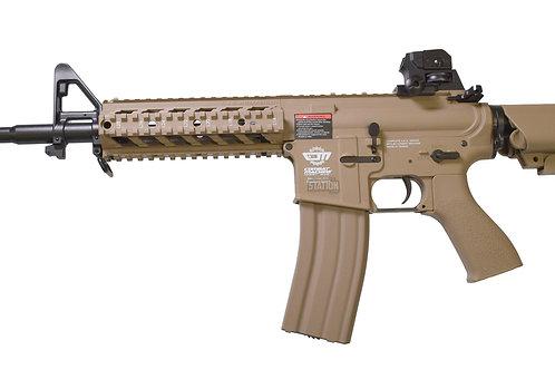 G&G Combat Machine CM16 Raider-L AEG Airsoft Rifle, Tan