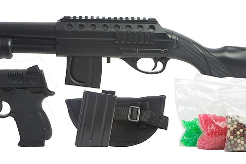 Mossberg Tactical Full Stock Shotgun Airsoft Kit