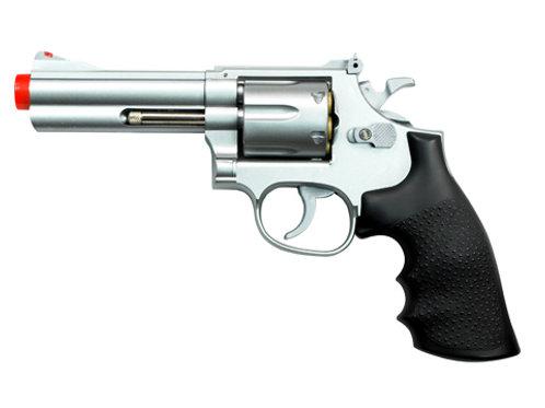 """TSD Sports Spring Revolver - 4"""" Barrel Airsoft Pistol"""