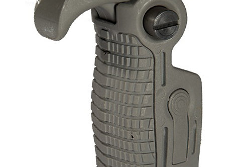 AK-Style Foldable & Extendable Tactical Foregrip, Foliage Green