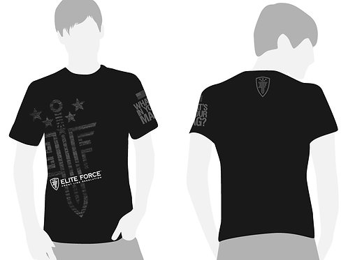 Elite Force What's In Your Mag T-Shirt, Black/Grey