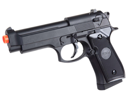 Full Metal M9 Style Spring Airsoft Pistol by CYMA (P818)