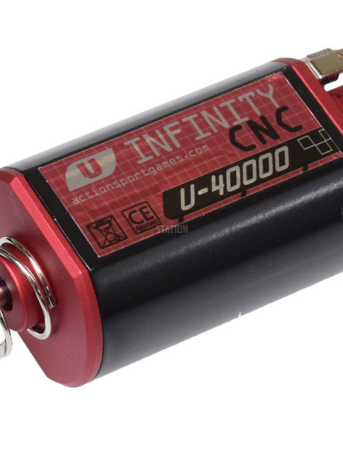 ASG Infinity Ultimate Series CNC Machined 40,000 RPM Motor, Short