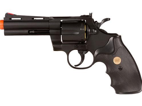 "UHC Airsoft Revolver 4"" Barrel - Black"