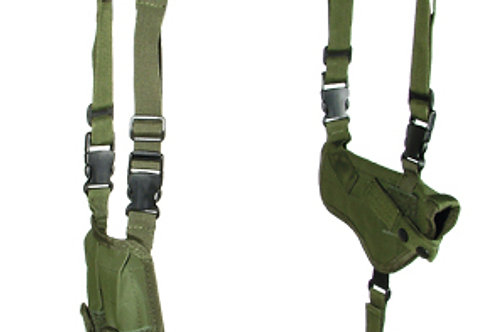 Leapers Deluxe Universal Horizontal Shoulder Holster, OD Green