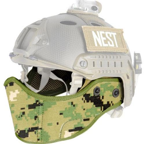 Lancer Tactical SpecOps Military Style Helmet Face Mask, Jungle Digital