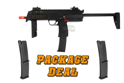 KWA H&K MP7 A1 Gas Blowback Combo Package w/ 2 Extra Mags