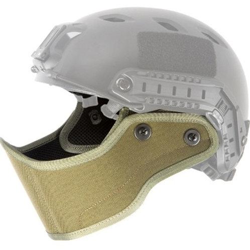 Lancer Tactical SpecOps Military Style Helmet Face Mask, OD Green