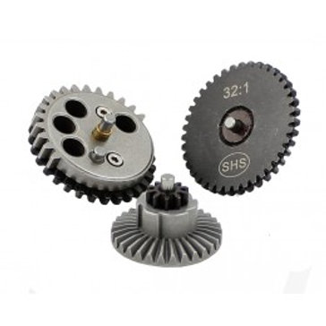 SHS 32:1 Gears Ultra High Torque Airsoft AEG Gear Set