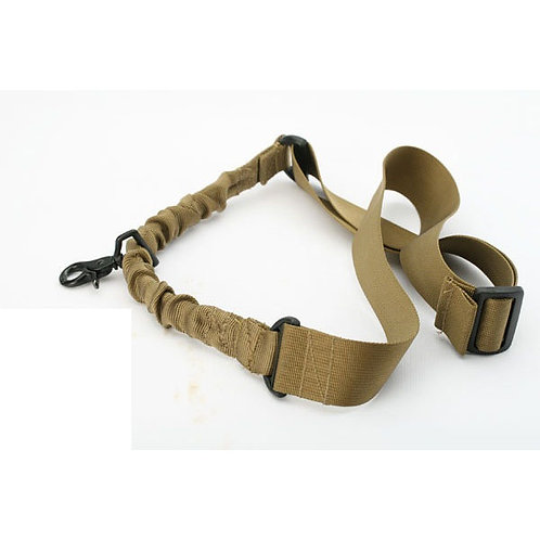 Tactical One Point Bungee Sling, Tan