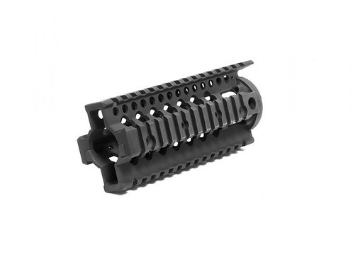 "Madbull Airsoft Daniel Defense Omega 7"" Free Float RIS, Black"