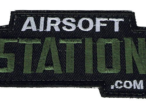 Official Airsoft Station Velcro Gear Patch