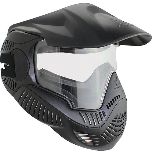 Airsoft Station Full Face MI-5 Airsoft/Paintball Mask, Black