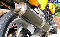 carbon fiber exhaust