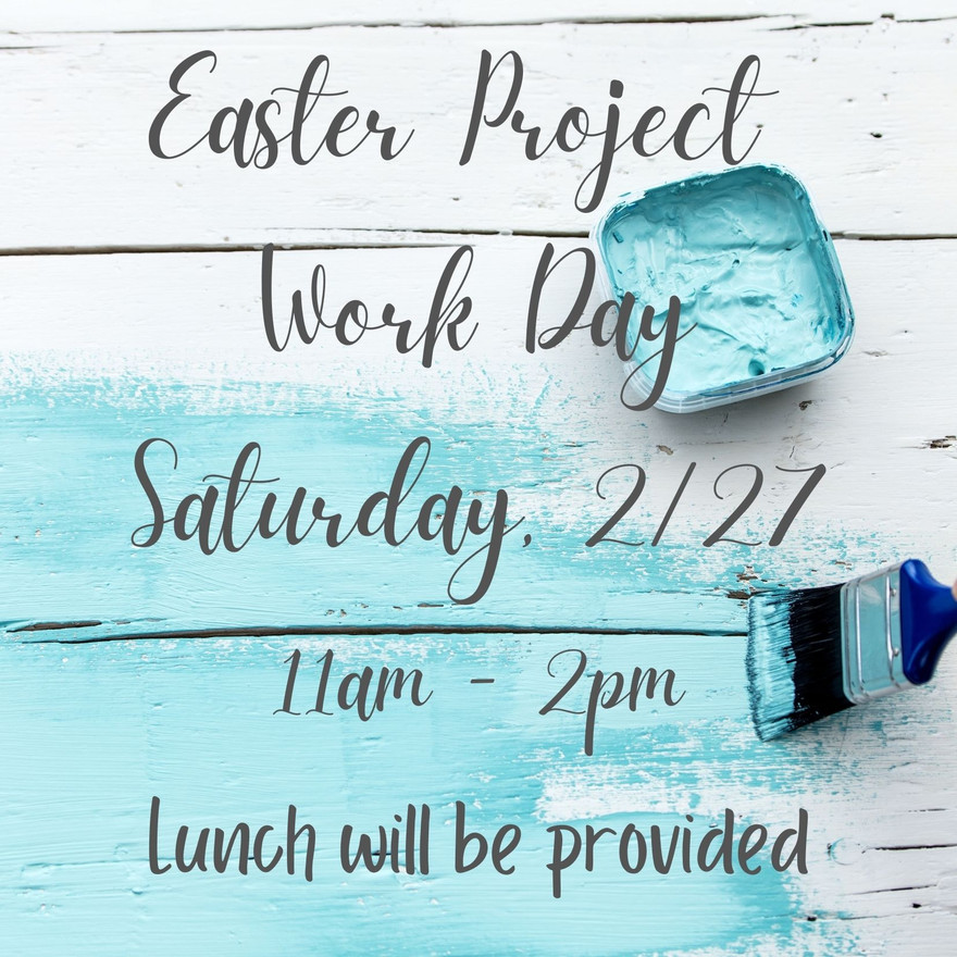 Easter Project Work Day