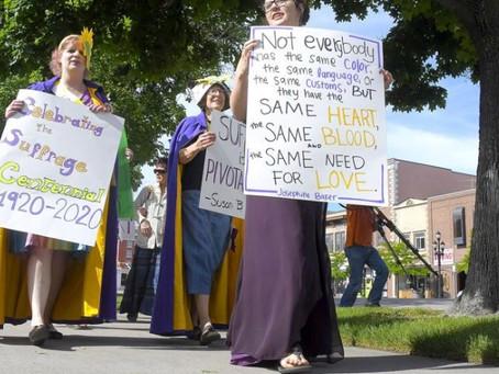 USU Suffrage March