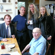 Travis Walton, Peter Robbins, Kate Thorvaldsen,Jennifer Stein & Peter's father, Allan