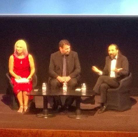Host , Malcom Carter & Nassim Haramein