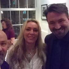 Kate Thorvaldsen & Tino Megaro & Malcom Carter ( film producer)