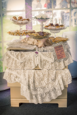 Pastry buffet.