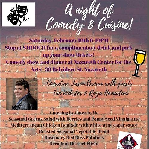 Comedy & Cuisine Ticket