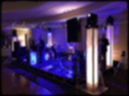 Lighting and stage setup