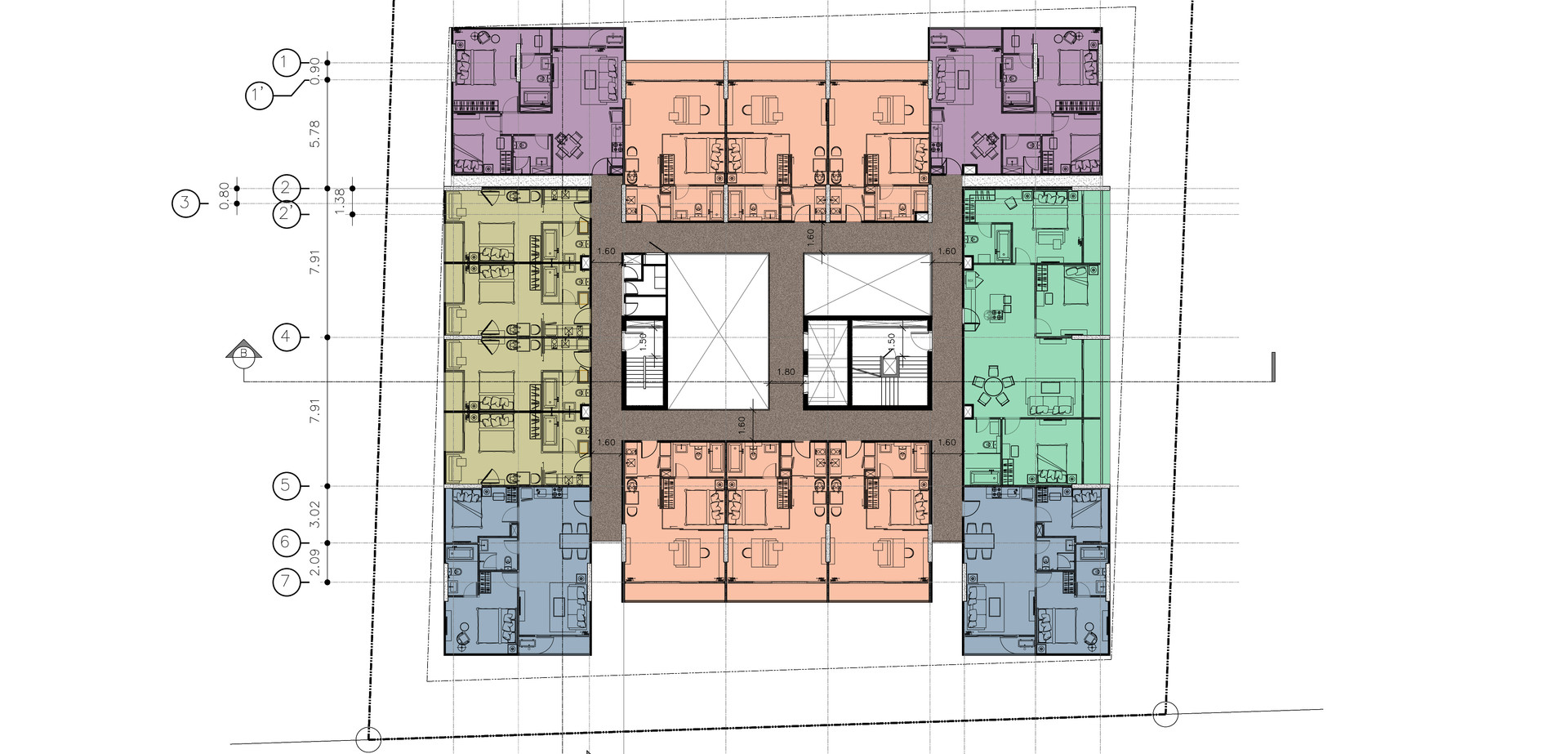 3th Floor Plan