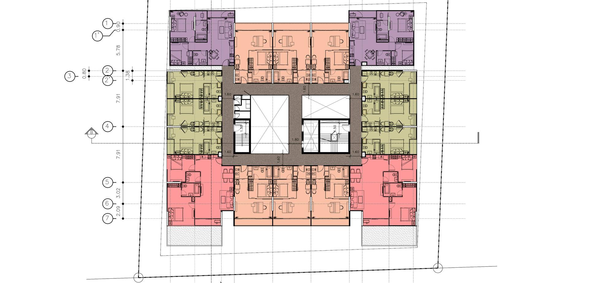 7th Floor Plan