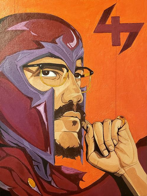 Malcolm X Magneto 47