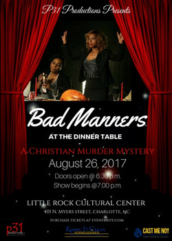 August 26 Bad Manners Play Flyer