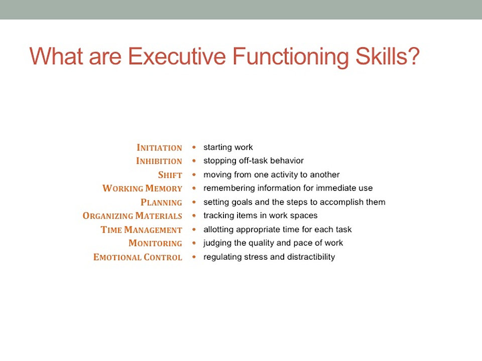Strengthening Executive Function >> 28 Executive Functioning Workbook Seeing My Time