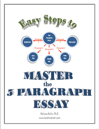 Step by step instruction for the 5 paragraph essay