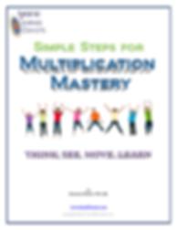 Multisensory activities teach multiplication skills.