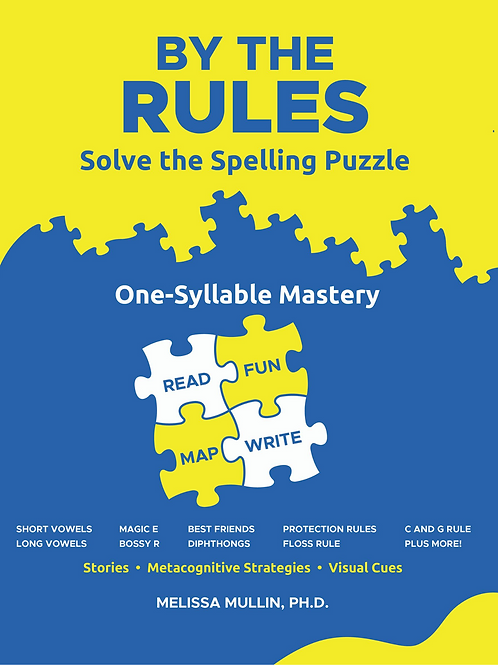 By The Rules: One Syllable Spelling