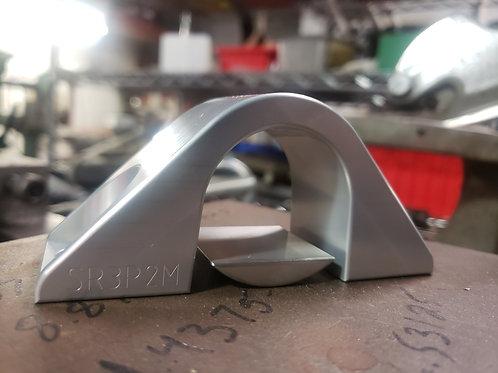Billet POWER TO MANUAL conversion steering rack Bracket