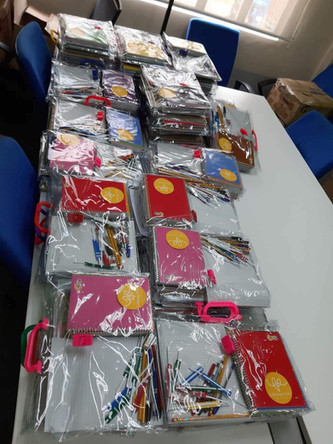 Items donated