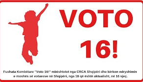 When is the time ripe? Half a dozen reasons why Albanian's Vote for 16! is important for every count