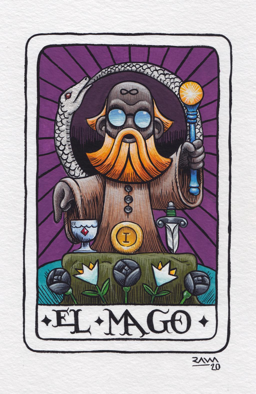 Tarot: El Mago