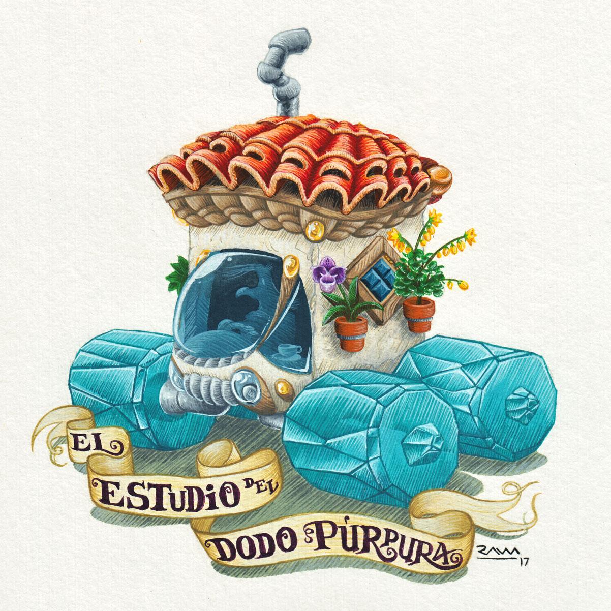 El estudio del Dodo Púrpura